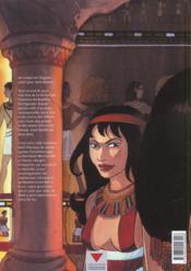 Sur les terres d'Horus t.2 ; Meresankh ou le choix de Seth - 4ème de couverture - Format classique