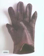 Le gant - 4ème de couverture - Format classique