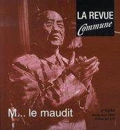 M... le maudit - Intérieur - Format classique
