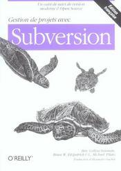 Gestion De Projets Avec Subversion - Intérieur - Format classique
