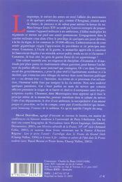 L Impot Du Sang - 4ème de couverture - Format classique