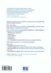Traumatologie, orthopedie, rhumatologie et soins infirmiers module n ,4 - 4ème de couverture - Format classique