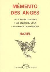 Mémento des anges - Couverture - Format classique