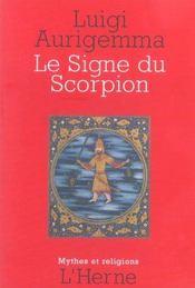 Le signe zodiacal du scorpion de l'antiquite greco-latine a la renaissance - Intérieur - Format classique