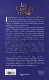 Le sang des hauteville t.1 les chevaliers de proie - 4ème de couverture - Format classique