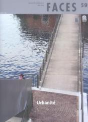 FACES N.59 ; urbanite - Couverture - Format classique