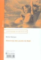 Histoire(S) Des Jouets De Noel - Couverture - Format classique