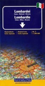Lombardie ; Côme, Milan, Brescia - Couverture - Format classique
