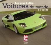 Les plus belles voitures du monde à l'essai - Couverture - Format classique