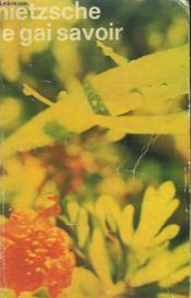 Le Gai Savoir. Collection : Idees N° 50 - Couverture - Format classique