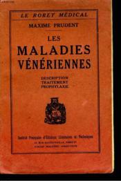 Les Maladies Veneriennes - Couverture - Format classique