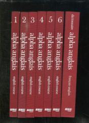 8 Tomes + 6 Coffrets Contenant 18 Cassettes. Alpha Anglais. English Course. - Couverture - Format classique