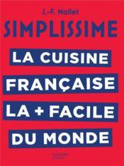 Simplissime ; la cuisine française - Couverture - Format classique