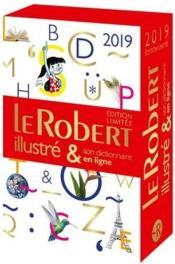Dictionnaire Le Robert illustré & son dictionnaire en ligne (édition 2019) - Couverture - Format classique