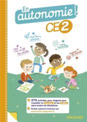 En autonomie ! ; fiches jeux ; CE2 (édition 2020) - Couverture - Format classique