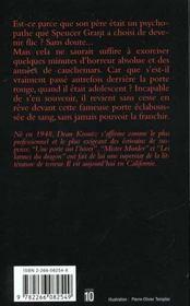 La Porte Rouge - 4ème de couverture - Format classique
