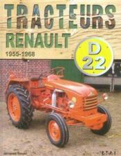 Tracteurs Renault D22, 1955/1968 - Couverture - Format classique