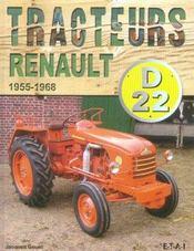 Tracteurs Renault D22, 1955/1968 - Intérieur - Format classique