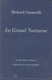 Le Grand Nocturne - Couverture - Format classique