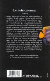 Poisson ange - 4ème de couverture - Format classique