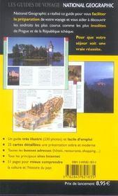 Prague (2e édition) - 4ème de couverture - Format classique