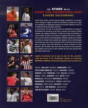 Les Stars De La Ligue Des Champions 2007 - 4ème de couverture - Format classique