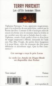 Les annales du Disque-monde ; les Ch'tits hommes libres - 4ème de couverture - Format classique