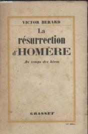 La Resurrection Dhomere. - Couverture - Format classique