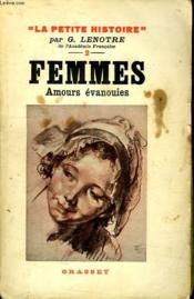 Femmes. Amours Evanouies. - Couverture - Format classique