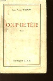 Coup De Tete - Couverture - Format classique