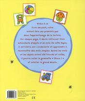 Mon livre d'autocollants amusant - 4ème de couverture - Format classique