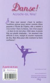 Danse ! T.34 ; accroche-toi, Nina ! - 4ème de couverture - Format classique