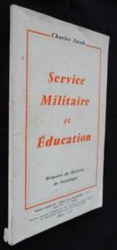 Service militaire et éducation, Numéro spécial des Cahiers de la réconciliation n°7 - Couverture - Format classique
