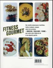 Fitness gourmet - 4ème de couverture - Format classique