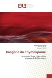 Imagerie du thymolipome - a propos d'une observation et revue de la litterature - Couverture - Format classique