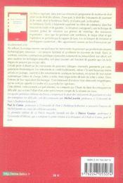 Droit commercial ; instruments de paiment et de crédit ; titrisation - 4ème de couverture - Format classique