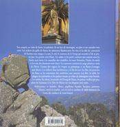 Les couleurs de la Corse - 4ème de couverture - Format classique