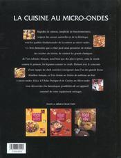 Cuisine Pratique Au Micro-Ondes - 4ème de couverture - Format classique