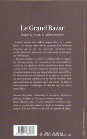 Le grand bazard - 4ème de couverture - Format classique