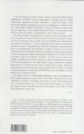 Trois Primitifs - 4ème de couverture - Format classique