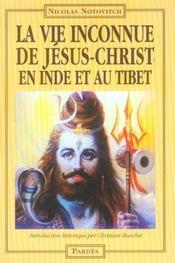 La vie inconnue de Jésus-Christ en Inde et au Tibet - Intérieur - Format classique