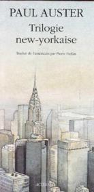 Trilogie new-yorkaise - Couverture - Format classique