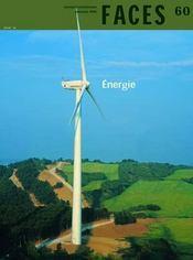 FACES N.60 ; énergie - Intérieur - Format classique