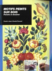Motifs Peints Sur Bois - Intérieur - Format classique
