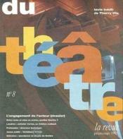 Du theatre-8 - - printemps 1995 - Couverture - Format classique