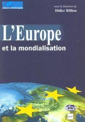 L'europe et la mondialisation - Intérieur - Format classique