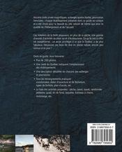 Auberges et pourvoiries exceptionnelles du québec - 4ème de couverture - Format classique