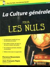 telecharger La culture generale pour les nuls (2e edition) livre PDF en ligne gratuit