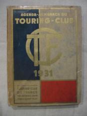 Agenda almanch du touring clun de France - Couverture - Format classique