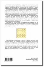Le carré naturel ; problèmes et jeux - 4ème de couverture - Format classique
